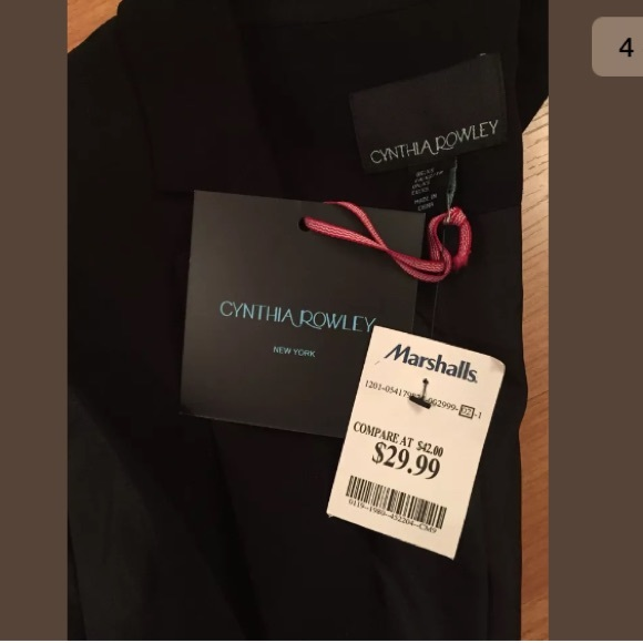 Cynthia Rowley Jackets Coats New With Tags Tj Maxx Collared Vest
